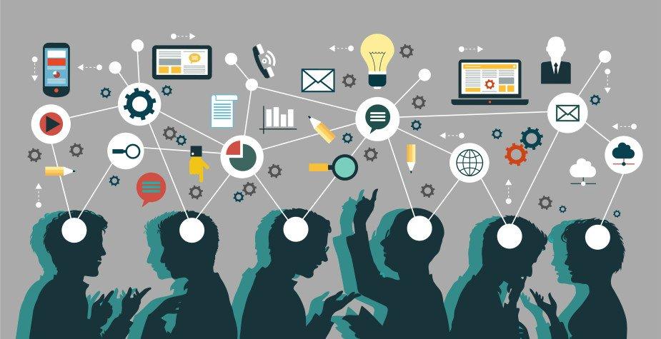 gestão de redes sociais - colaboração - Aquilas Web